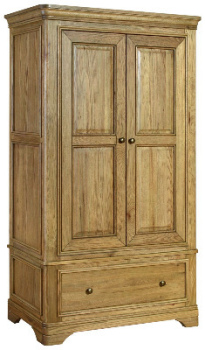 Versaille Wardrobe Gents Oak