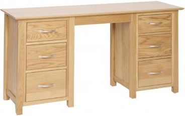 Katharine Pedestal Dressing Table Double