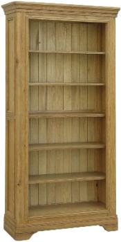 Versaille Oak Bookcase Tall