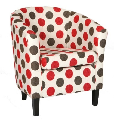 Panda Chair Dolce Red