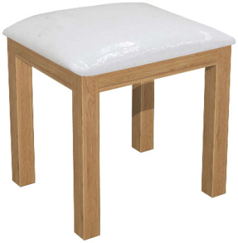 Roma Oak Dressing Table Stool