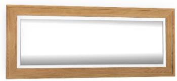Roma Oak Mirror Long