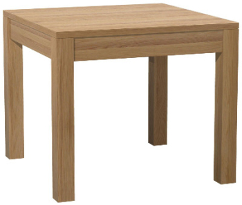 Roma Oak Table Square