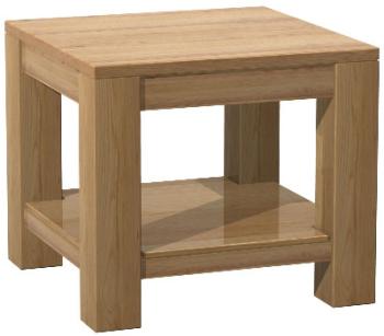 Roma Oak Table Lamp