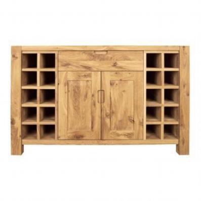 Driftwood Wine Rack 2 Door