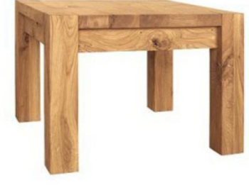 Driftwood Lamp Table small Solid Oak