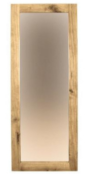Driftwood Mirror Small Solid Oak