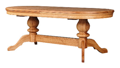 Como Double Pedestal Table