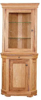 Como Cabinet Small Corner Display