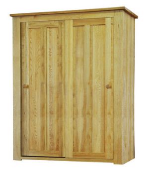 Lauriston Robe 2 Door Sliding Solid Oak