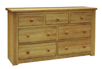 Lauriston Chest 3 Over 4 Solid Oak