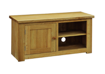Lauriston T.V Unit Solid Oak