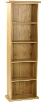 New England Oak DVD Double Tower