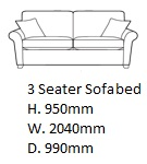 salcombe3seatersofabedsize