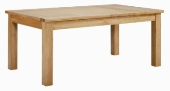 Roma Oak Table Large Extending