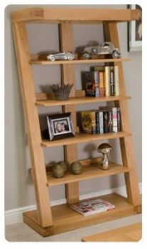 Zee Oak Bookcase  Large