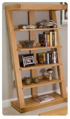 Zee Oak Bookcase  Large