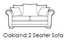oakland 2 seater sofa n