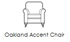 oakland accent chair n