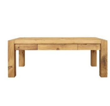 Driftwood Coffee Table with Drawers square