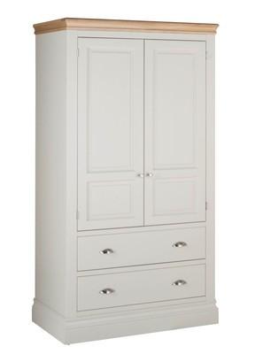 Lundel wardrobe 2 drawer