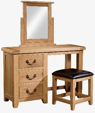 Windermere Oak Dressing Table and Stool