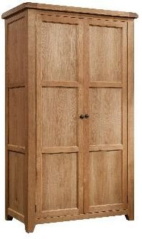 Windermere Oak Wardrobe Double