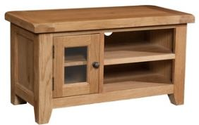 Windermere Oak TV Unit small
