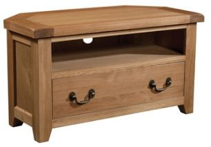 Windermere Oak TV Unit Corner