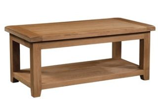 Windermere Oak Coffee Table Large
