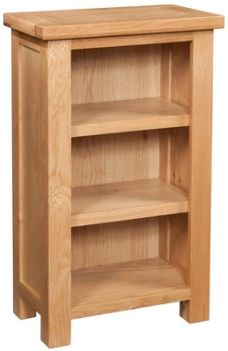 New Amber Oak Bookcase Small
