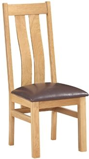 New Amber Oak Dining Chair Arizona Chair