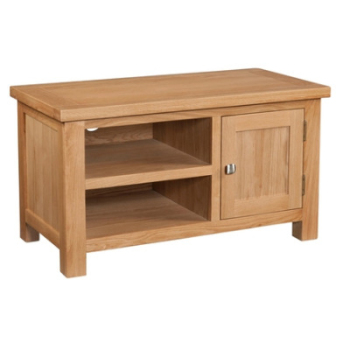 New Amber Oak Standard TV Unit