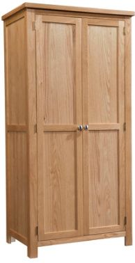 New Amber Oak Wardrobe 2 Door
