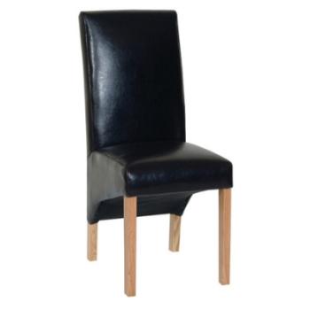 Katharine Chair Bi-Cast Leather - Brown