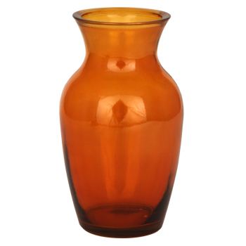 Recycled Orange Colour Glass