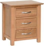 Katharine Chest 3 Drawer Bedside