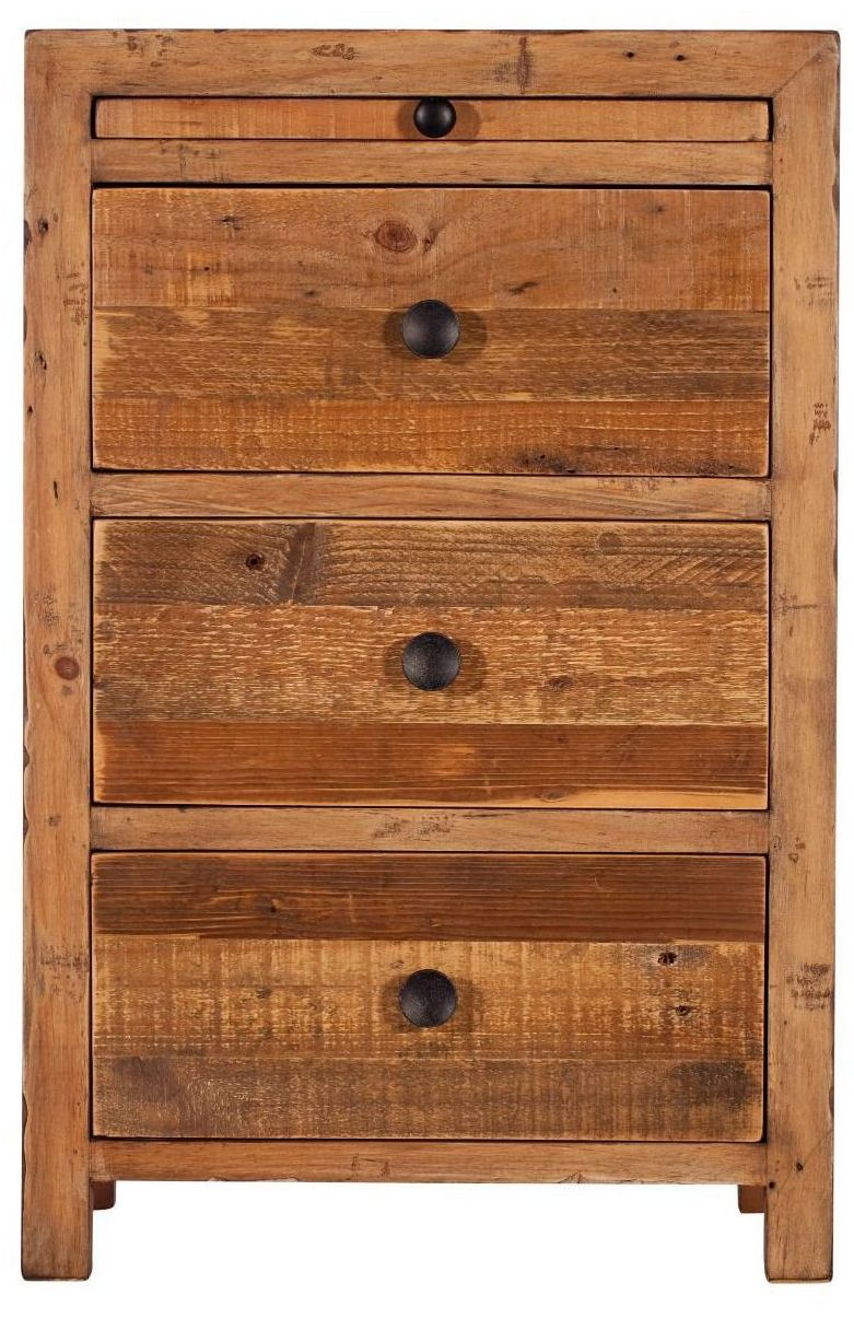 Retro Chest 3 Drawer Reclaimed Timber
