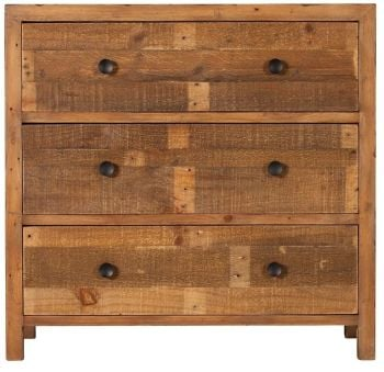 Retro Chest 3 Drawer Wide