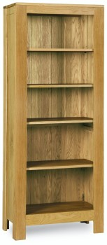 Roma Oak Bookcase Tall