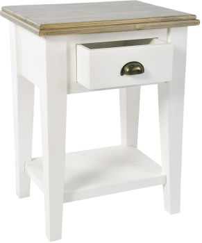 Monpellier Chest Bedside Table 1 Drawer