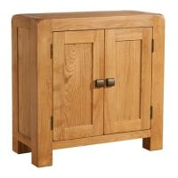 Nova Oak Cabinet Small 2 Doors