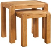 Nova Oak Nest of tables