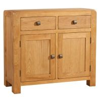 Nova Oak Sideboard 2 Doors & 2 Drawers