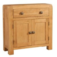 Nova Oak Sideboard Compact 1 Drawer & 2 Door