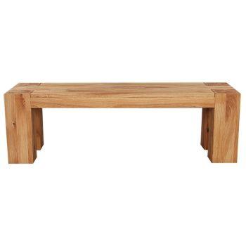 Loft Bench Solid European Oak 1240mm
