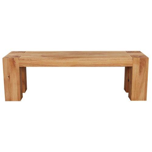 Loft Bench Solid European Oak Oil Finish 1240mm
