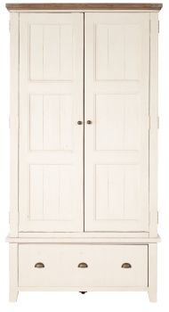 New Christy Painted Wardrobe Double Large