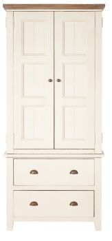 New Christy Painted Wardrobe Double Small