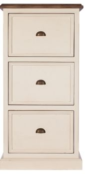 New Christy Painted Filing Cabinet 3 Drawer